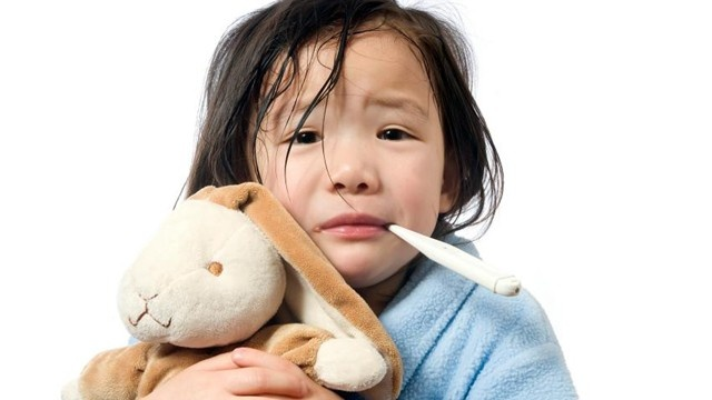 children with flu